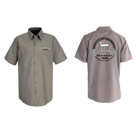 Brew Shirt Short Sleeve-Grey