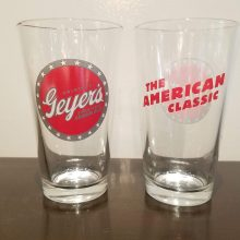 Geyers Pint Glasses